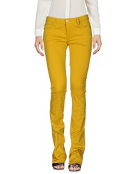 Made With Love Casual Pants Ocher