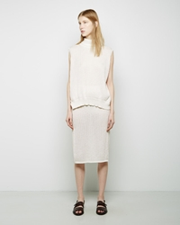 Rachel Comey Tube Skirt White