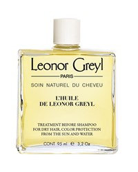 Leonor Greyl Huile De Color Protecting Pre Shampoo Treatment For Dry Hair 3.2 Oz. 95 Ml