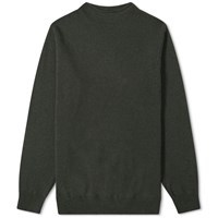 Mhl By Margaret Howell High Neck Knit Green