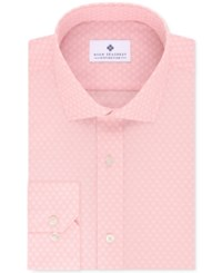Ryan Seacrest Distinction Men's Evening Collection Slim Fit Non Iron Cotton Dress Shirts Only At Macy's Pink Petal Print