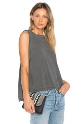 Sam And Lavi Luca Top Charcoal