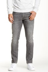 Agave Hipster Slim Cut Straight Leg Jean Gray