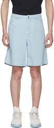 Acne Studios Blue Allan Shorts