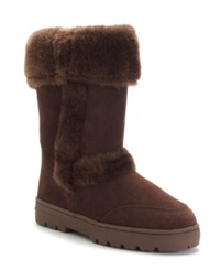 Style And Co. Witty Cold Weather Boots Only At Macy's Women's Shoes Brown