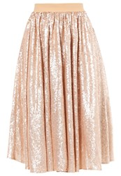 Mintandberry Aline Skirt Rose Gold