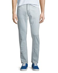 Burberry 80S Straight Fit Stretch Jeans Ice Blue