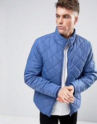 Blend Of America Padded Jacket Diamond Quilted 74631 True Blue