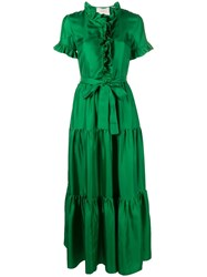 La Doublej Long And Sassy Dress Green