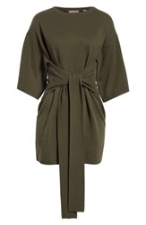 Ted Baker London Olympy Tie Front Knit Tunic