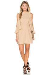 Finders Keepers Real Slow Dress Beige