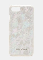 Rick Owens Mother Of Pearl Iphone 7 Case White