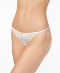 B.Tempt'd By Wacoal B.Sultry Lace Thong 976361 Vanilla Ice
