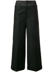 Rejina Pyo Wide Leg Trousers Black