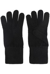 Iris And Ink Woman Elsa Cashmere Gloves Black