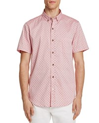Sovereign Code Crystal Cove Regular Fit Button Down Shirt Red