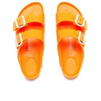 Birkenstock Women's Arizona Slim Fit Double Strap Sandals Neon Orange