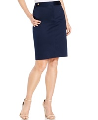 Jones New York Pencil Skirt Navy