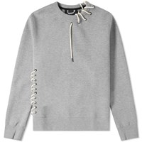 Craig Green Laced Sweatshirt Grey