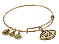 Alex And Ani New York Jets Football Charm Bangle Rafaelian Gold Finish Bracelet