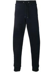 Paul Smith Ps By Tapered Track Pants Blue