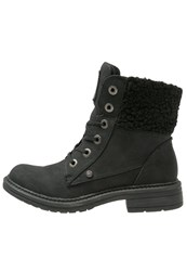 Blowfish Fader Laceup Boots Black