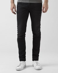 Diesel Black Faded Skinny Sleenker Jeans