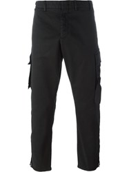 N 21 No21 Loose Fit Cargo Trousers Black