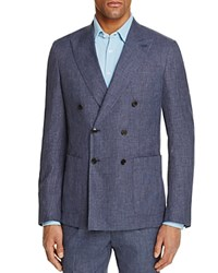 Thomas Pink Cayman Double Breasted Linen Classic Fit Sport Coat 100 Bloomingdale's Exclusive Blue