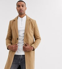 Good For Nothing Overcoat In Camel Stone