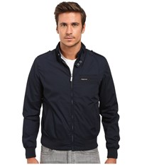 Members Only Iconic Racer Jacket Navy Men's Coat