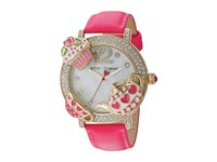 Betsey Johnson Bj00614 02 Tea Party Face Gold Watches