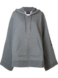 Puma Fenty Fleece Zip Up Hoodie Grey