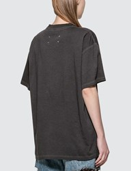 Maison Martin Margiela Overdye Label T Shirt Black