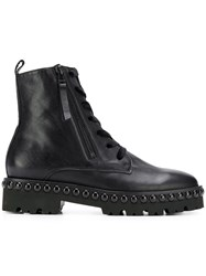 Kennel Schmenger And Lace Up Ankle Boots Black