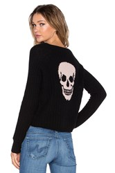 360 Sweater Gambino Skull Sweater Black
