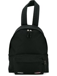 Vetements Eastpack Oversized Canvas Backpack Black