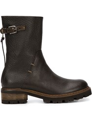 Henry Beguelin Ankle Boots Brown