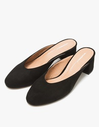Daisy In Black Suede
