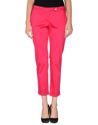 Ekle' Trousers Casual Trousers Women Fuchsia