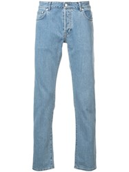 Officine Generale Kurt Fitted Jeans Blue