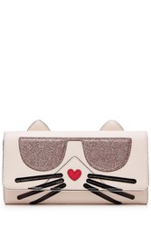 Karl Lagerfeld K Kocktail Choupette Wallet Rose