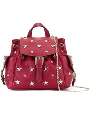 Red Valentino Mini Star Stud Backpack Red