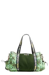 Maaji Print Gym Bag Green Multicolor