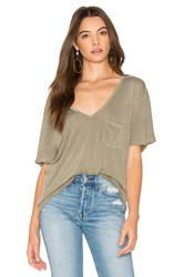 Project Social T Rylee Pocket Tee Army