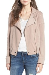 Women's Bp. Washed Cotton Moto Jacket