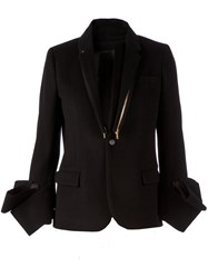 Undercover Structured Cuff Blazer Black