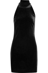 Bailey 44 Velvet Mini Dress Black
