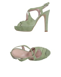 Altiebassi Sandals Light Green