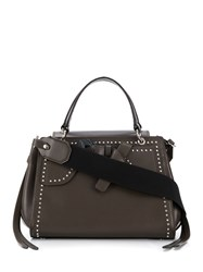 Paula Cademartori Petite Margareth Glam Day Bag Brown